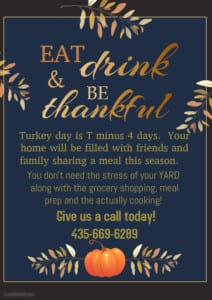 Copy of Thanksgiving feast flyer template - Made with PosterMyWall
